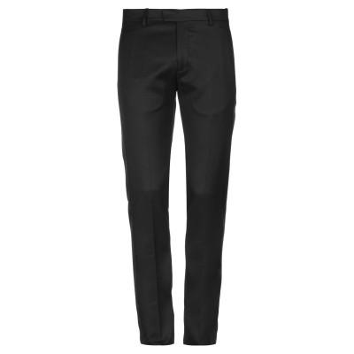 LES HOMMES パンツ ブラック 54 バージンウール 100% / シルク / ポリエステル パンツ
