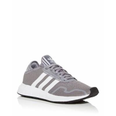 アディダス メンズ スニーカー シューズ Men's Swift Run X Knit Low Top Sneakers Heather Gray