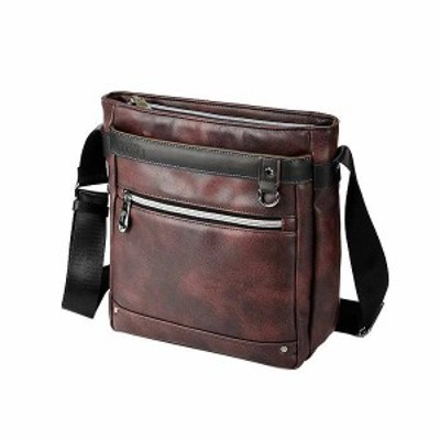 BAGGEX ギャラン ショルダーバッグ 縦型 13-6100 バーガンディ 【送料無料】(ショルダーバッグ、旅行バッグ、カバン、かばん、鞄)