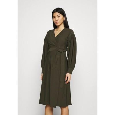 サムスサムス ワンピース レディース トップス MERRILL DRESS - Day dress - black olive