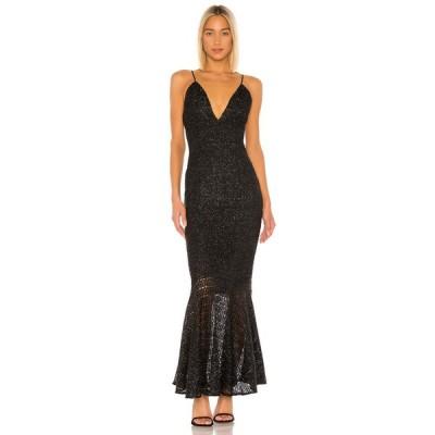 ハウスオブハーロウ1960 House of Harlow 1960 レディース ワンピース マキシ丈 ワンピース・ドレス x REVOLVE Sansia Maxi Dress Noir