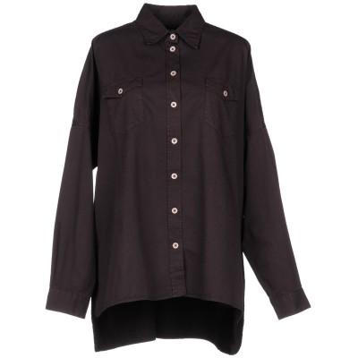マッシモ・アルバ MASSIMO ALBA シャツ ディープパープル S コットン 100% シャツ