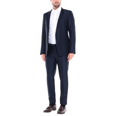 ドルチェ & ガッバーナ DOLCE & GABBANA スーツ ダークブルー 50 ウール 51% / レーヨン 39% / シルク 8% / ポ