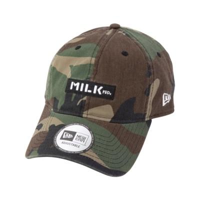 【定番】MILKFED. X NEW ERA BAR CAP (カモ)