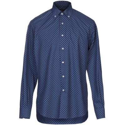 LIZA シャツ ブルー M ポリエステル 65% / コットン 35% シャツ