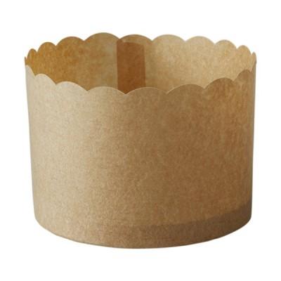 ペルガミンカップLL(クラフト) 100枚入 マフィン型 , マフィンカップ , カップケーキ , ベーキングカップ , 日本製  , 紙型 , 紙 PM340-100