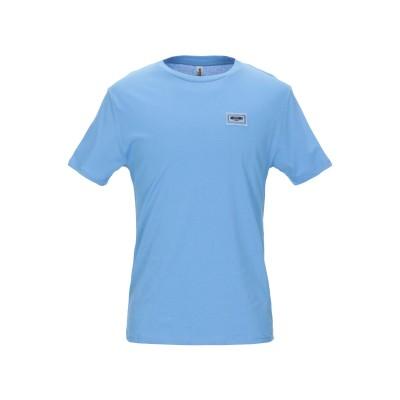 モスキーノ MOSCHINO T シャツ アジュールブルー XS コットン 100% T シャツ