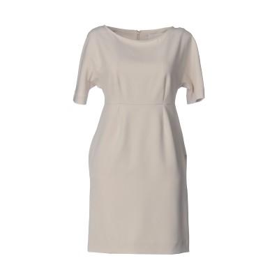 メルシー ..,MERCI ミニワンピース&ドレス ベージュ 42 ポリエステル 88% / ポリウレタン 12% ミニワンピース&ドレス