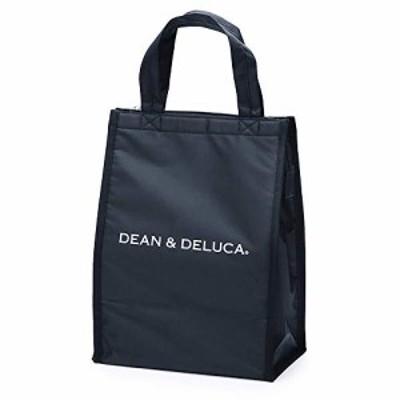 DEAN&DELUCA クーラーバッグ ブラックM 保冷バッグ ファスナー付き コンパクト お弁当 ランチバッグ