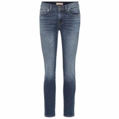 セブン フォー オール マンカインド 7 For All Mankind レディース ジーンズ・デニム ボトムス・パンツ Roxanne mid-rise skinny jeans M