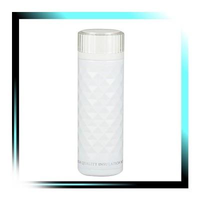 ホワイト カフェマグ 軽量ダイヤカットマグボトル350mL ホワイト