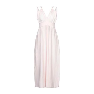 サンシックスティエイト SUN 68 ロングワンピース&ドレス ライトピンク S コットン 100% ロングワンピース&ドレス