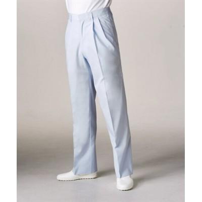 MONTBLANC 7-656 パンツ(半ゴム)(男性用) ナースウェア・白衣・介護ウェア