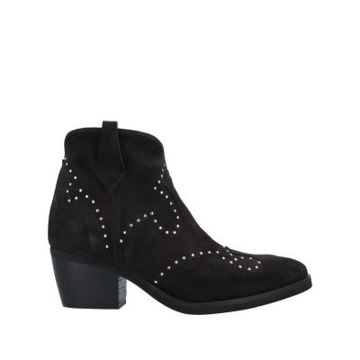 N'SAND® ショートブーツ ブラック 40 革 ショートブーツ