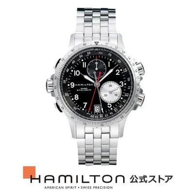 ハミルトン 公式 腕時計 Hamilton Khaki ETO カーキ アビエーション E.T.O. メンズ メタル   正規品 時計 メンズ腕時計 ブランド ブレスレットウォッチ ベルト