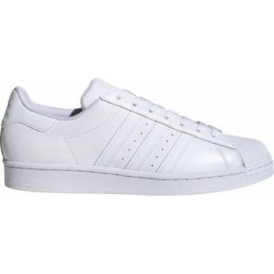 アディダス メンズ スニーカー シューズ adidas Originals Men's Superstar Shoes White/White/White