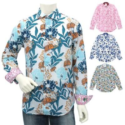 ガネーシュ GANESH パターンデザインシャツ FLOW G7000M メンズ