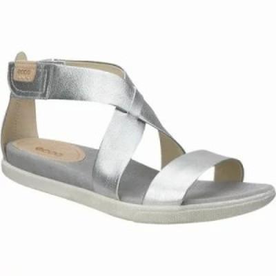 エコー サンダル・ミュール Damara Strap Sandal Alusilver Leather