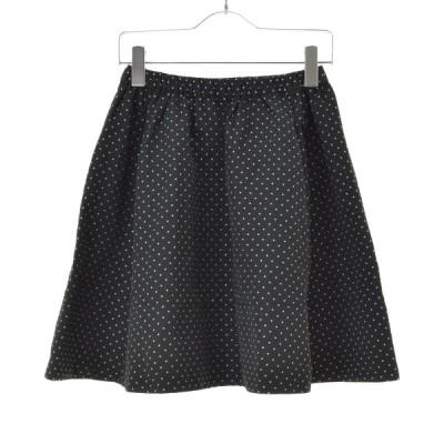 【期間限定値下げ】me couture / ミークチュール ドット柄フレア スカート