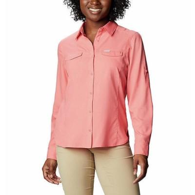 (取寄)コロンビア レディース シルバー リッジ ライト ロング スリーブ シャツ Columbia Women's Silver Ridge Lite Long Sleeve Shirt Salmon 送料無料