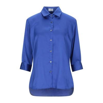 RUE DU BAC シャツ ブライトブルー 44 ポリエステル 95% / ポリウレタン 5% シャツ