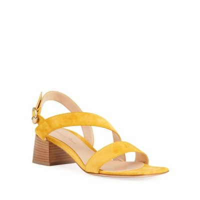 ジャンヴィト ロッシ レディース サンダル シューズ 45mm Asymmetrical Suede City Sandals