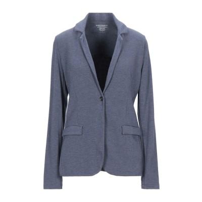 マジェスティック MAJESTIC FILATURES テーラードジャケット ブルーグレー 3 レーヨン 96% / ポリウレタン 4% テーラード