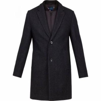 テッドベーカー Ted Baker メンズ コート アウター cambear 2 button overcoat Navy