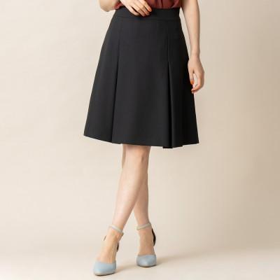 日本製★ナチュラルストレッチボックススカート