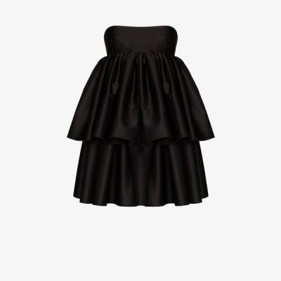 ロテート ROTATE レディース パーティードレス ワンピース・ドレス Carmina strapless layered dress black