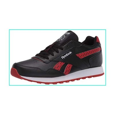 【新品】Reebok Men's Classic Harman Run Sneaker, Black/Legacy Red/White, 8.5 M US(並行輸入品)
