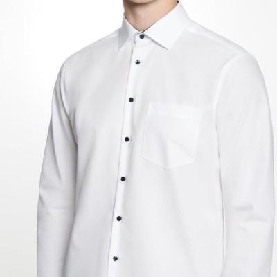 メンズ ファッション REGULAR FIT - Formal shirt - white