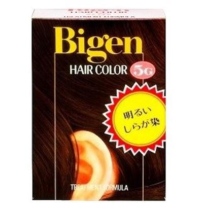 ビゲン ヘアカラー 5G 深い栗色/ ビゲン 白髪染め ヘアカラー
