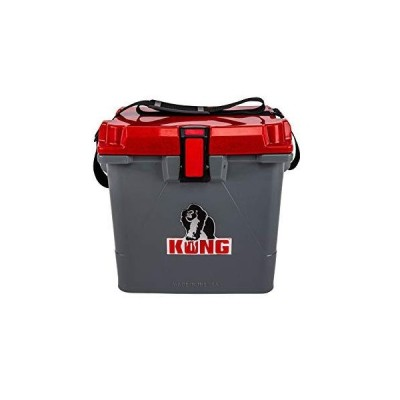 KONG Coolers | 20 Quart Rotomolded | Proudly Made in The USA | Durable, Safe, No-Slip Feet, Extended Ice Retention Cooler (Rugged Red)
