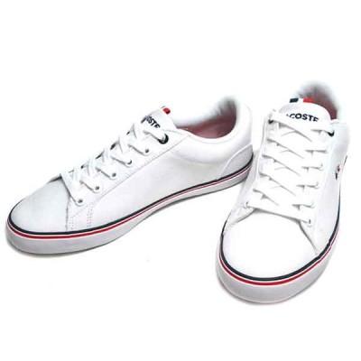 ラコステ LACOSTE LEROND ルロン 218 1 QSP ホワイトホワイト スニーカー レディース 靴