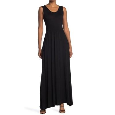 ウエスト ケイ レディース ワンピース トップス Knit Maxi Dress BLACK