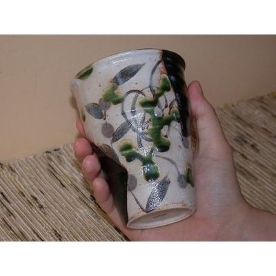 黒織部フリーカップ 美濃焼 陶器 玉山窯 4代玉置兼光