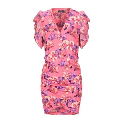 SOALLURE ミニワンピース&ドレス フューシャ 46 ポリエステル 95% / ポリウレタン 5% ミニワンピース&ドレス