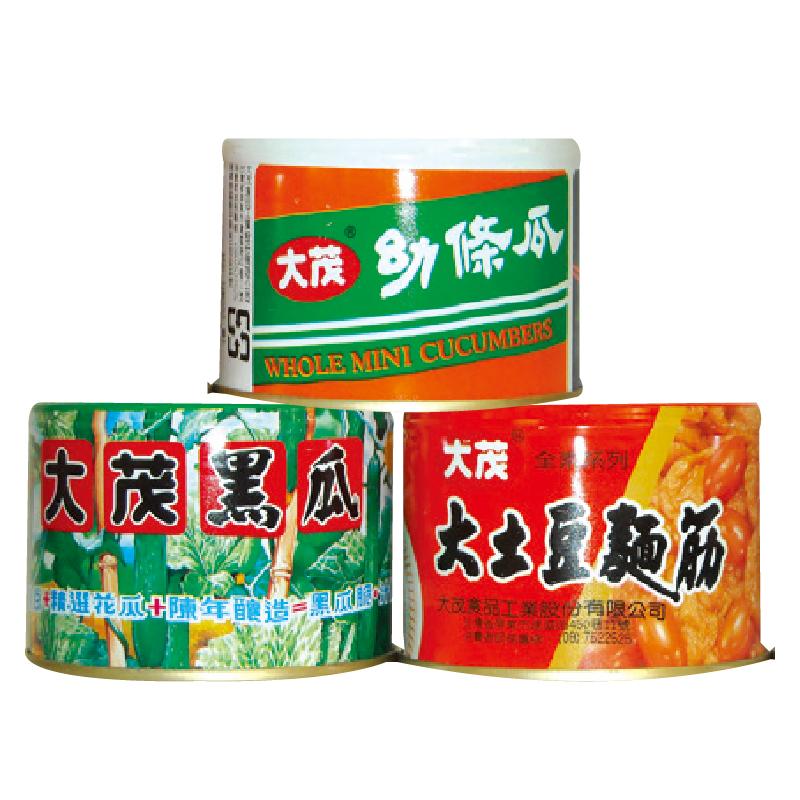 大茂三寶組合罐 170g