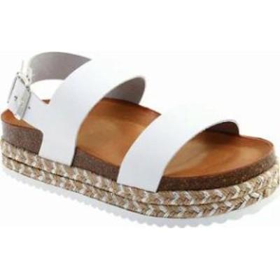 ALDO レディースサンダル ALDO Ruryan Slingback Sandal White Leather