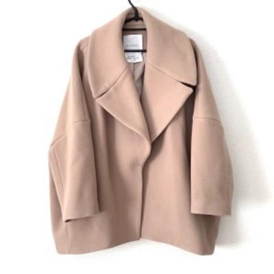 エレンディーク ELENDEEK コート サイズ2 M レディース 美品 ベージュ 冬物【中古】20210225