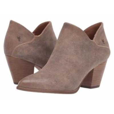 Frye フライ レディース 女性用 シューズ 靴 ブーツ アンクル ショートブーツ Reed Shootie Taupe Multi Cracked Vintage【送料無料】