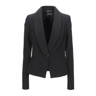 REVISE テーラードジャケット ブラック M ポリエステル 90% / ポリウレタン 10% テーラードジャケット