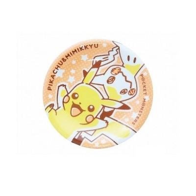 ポケットモンスター ピカチュウ&ミミッキュ 染付ケーキ皿 人気 キャラクター プレゼント ギフト かわいい ポケモン