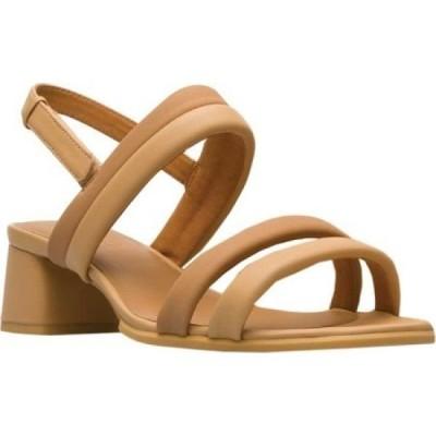 カンペール Camper レディース サンダル・ミュール シューズ・靴 Katie Slingback Sandal Multi Pale/Tan Sheepskin/Goat Skin