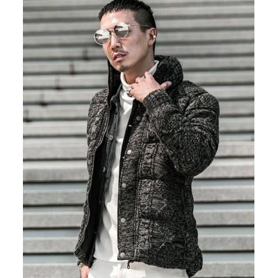 JOKER / ニット中綿ジャケット MEN ジャケット/アウター > ダウンジャケット/コート