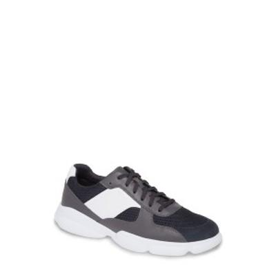 ボス メンズ スニーカー シューズ Rapid Runn Sneaker OPEN GREY