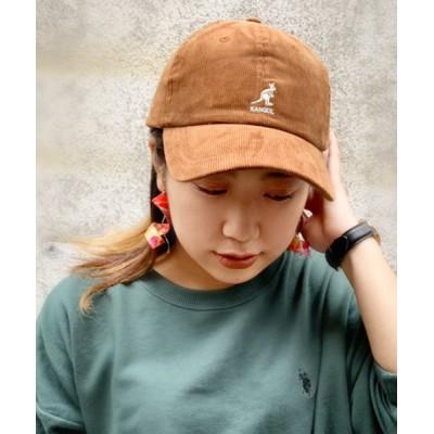polcadot / [KANGOL]Cord Besball/[カンゴール]コーディロイ キャップ WOMEN 帽子 > キャップ