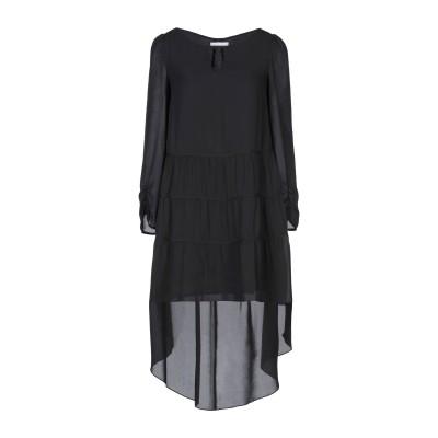 パトリツィア ペペ PATRIZIA PEPE ミニワンピース&ドレス ブラック 40 ポリエステル 100% ミニワンピース&ドレス