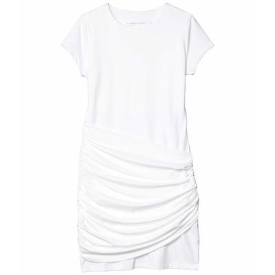 スサナモナコ ワンピース トップス レディース Short Sleeve Gathered Overlay Dress Sugar